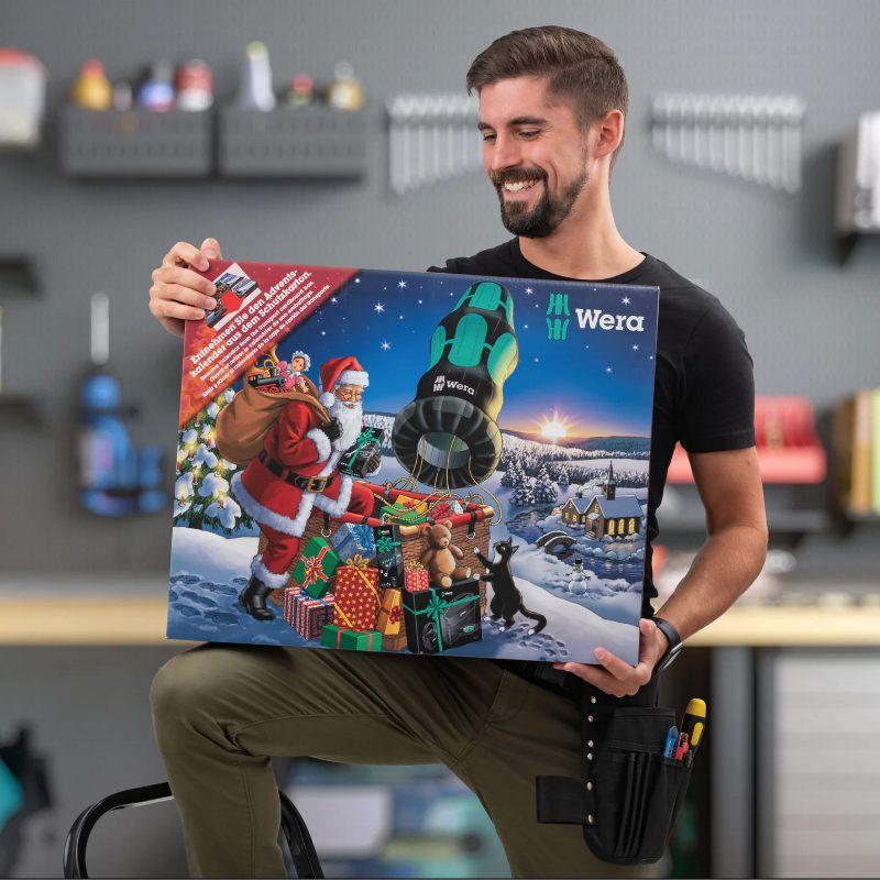 Julekalender med verktøy -gave til kjæresten han