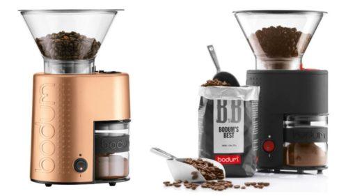 Bistro kaffekvern fra Bodum - Gavetips til bryllupsdagen