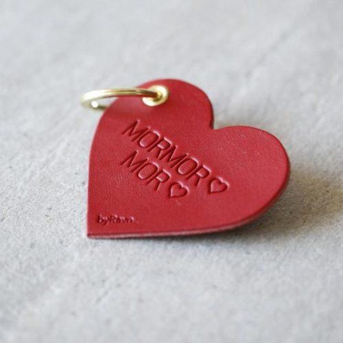 Hjerteformet nøkkelring