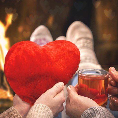 Värmekudde - Värmande hjärta