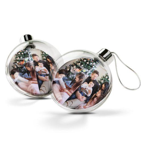 Julekule med bilde