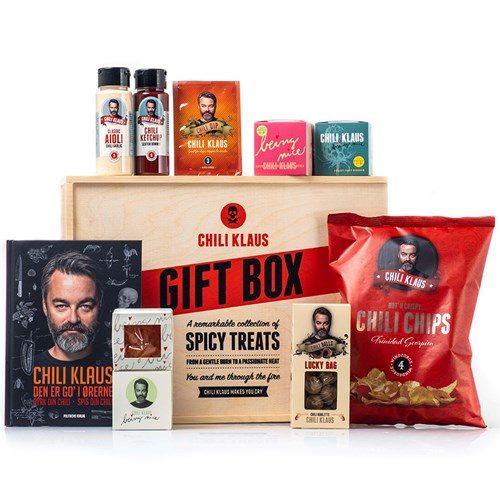Presentbox för chiliälskaren – Chili Klaus