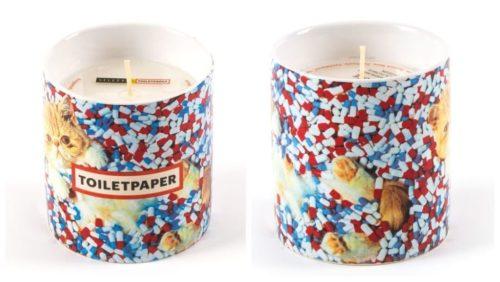 julegavetips til mannen: doftljus Toiletpaper Pills fra Seletti