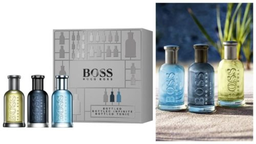 julegavetips til mannen: Hugo Boss Boss Bottled Trio