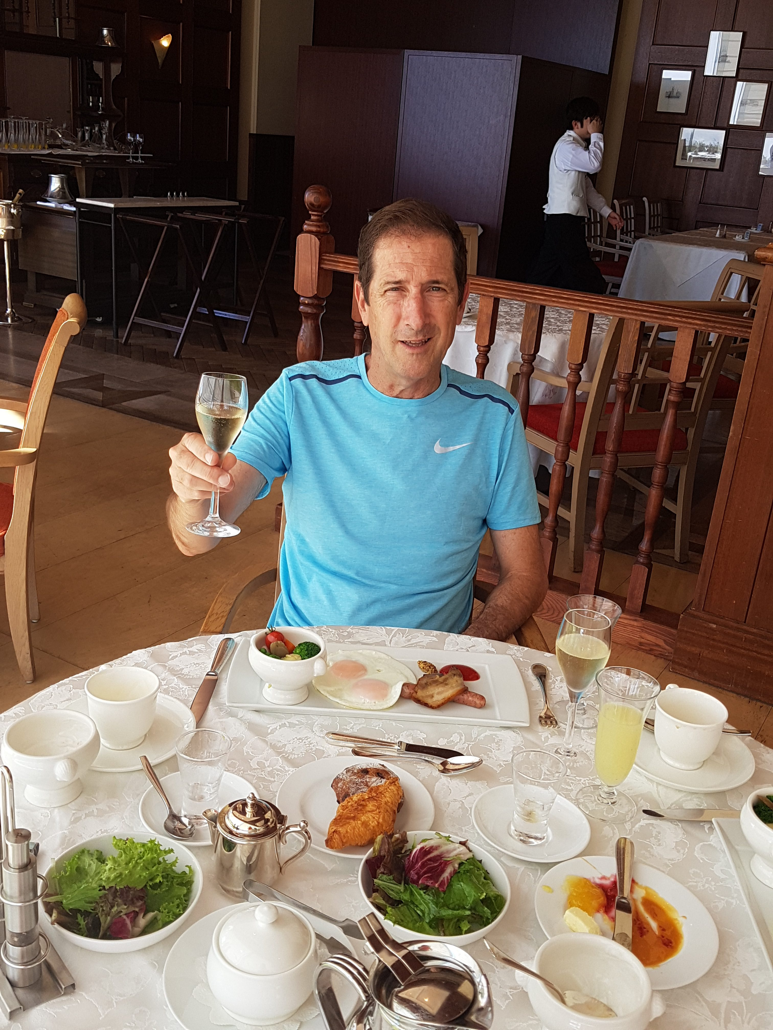 Breakfast at Windsor hotel