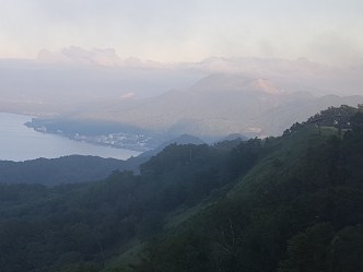 view from mount usu