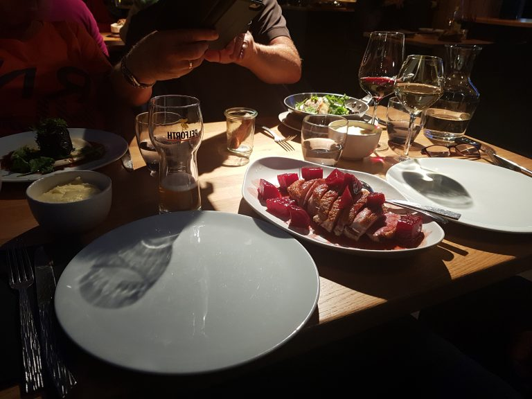 a Michelin starred restaurant inHôtel Chez Camillou.