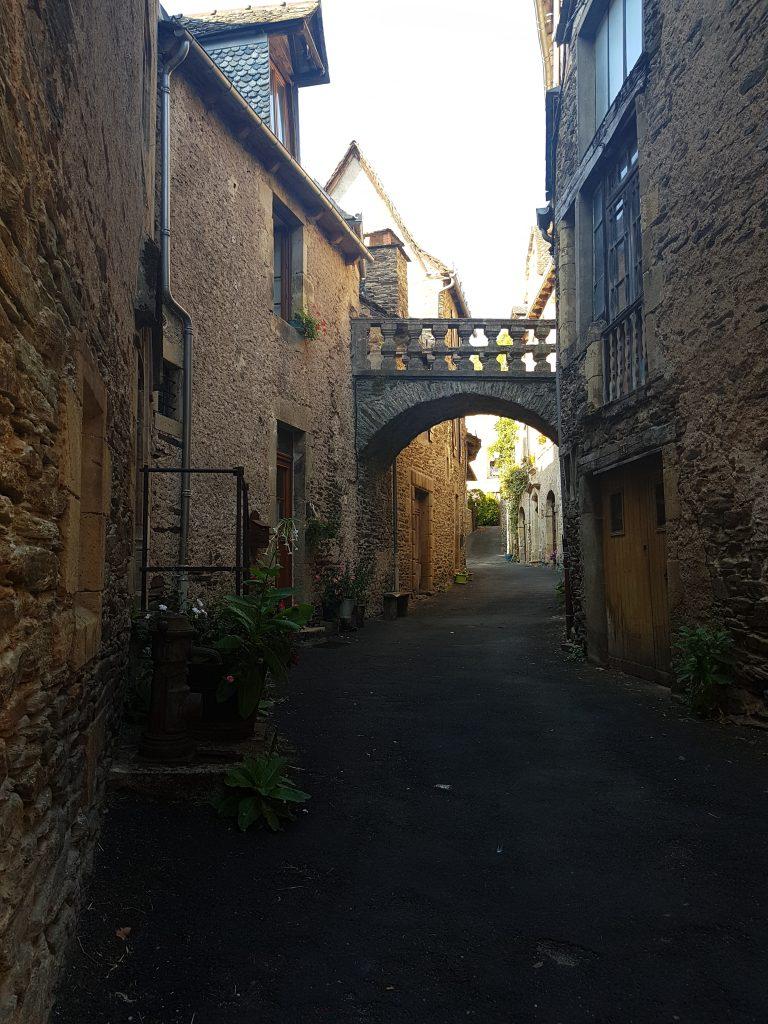 Old buildings in Estaing