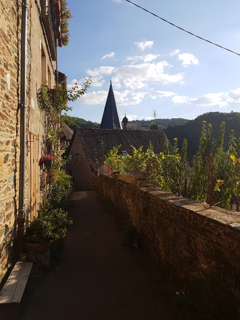 view from Estaing