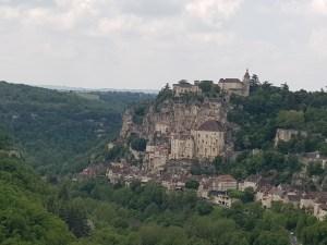 Rocamadour from afar