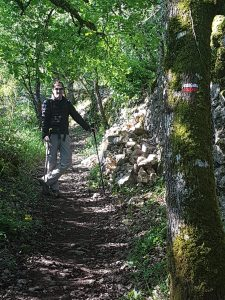 Climbing from Figeac