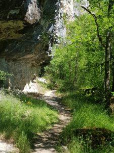 Gr651 near the cliff