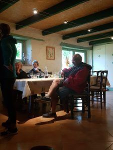 dinner at trigodina