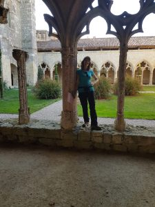 me in Cloister
