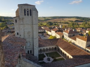 cloister from the tower