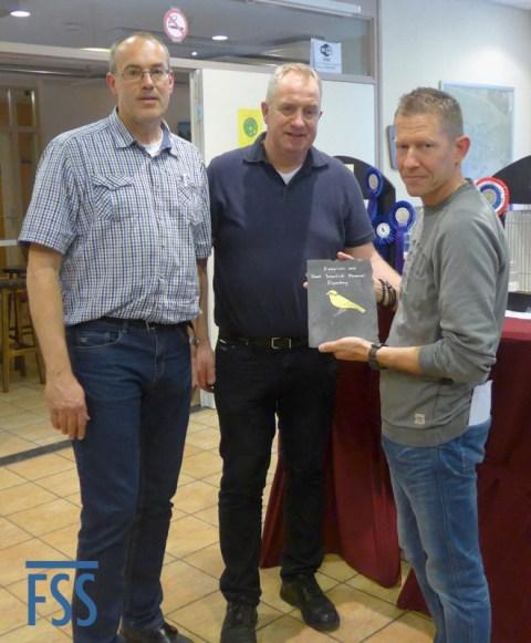 Best in Show: Bart Deckers receives his award from Marko Dielen & Hans Hermans