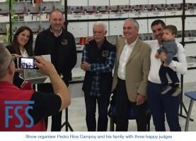 Amigos 2018 Pedro Rios Campoy & family