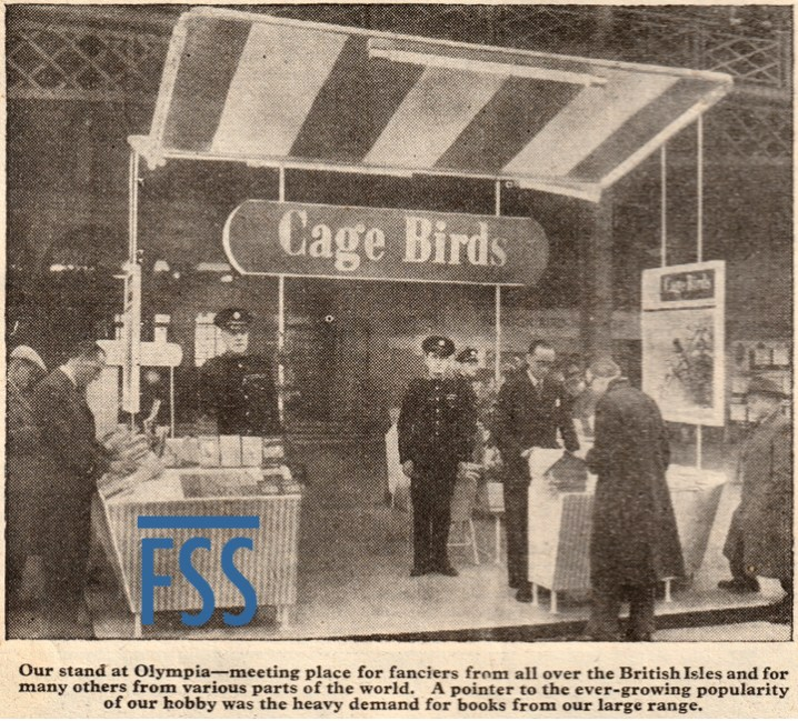 Cage birds exhibition Olympia