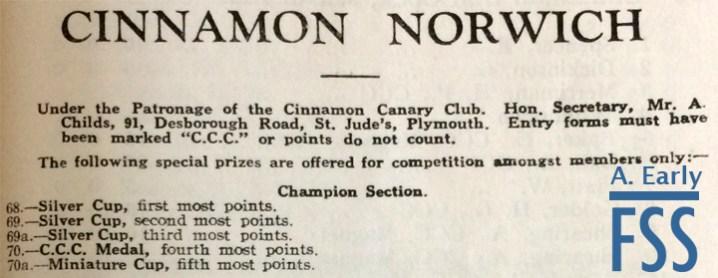 Cinnamon canary