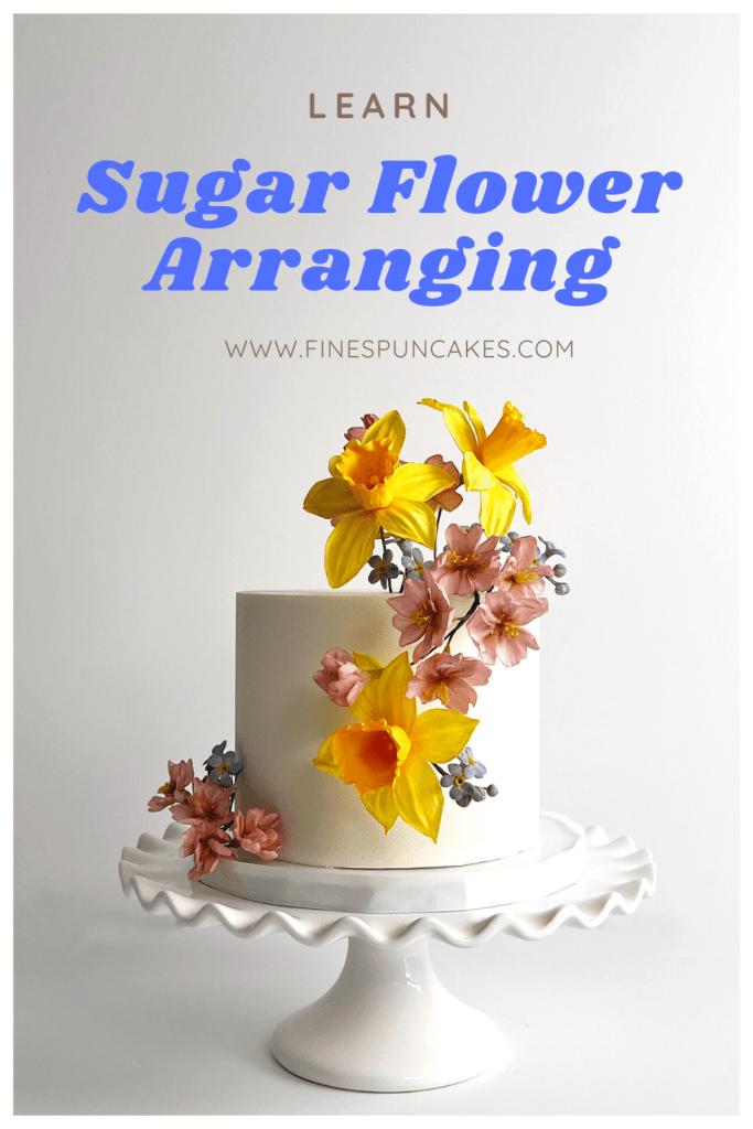 Learn Sugar Flower Arranging