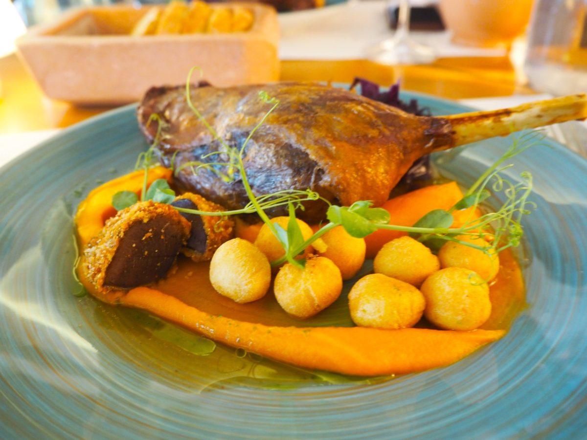 ST.DONAT Main dish Photo by©Papp Hideko, FinoMagazin2018, FinesseWinepia2020