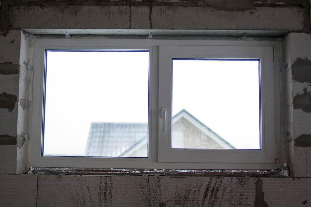 Правильно установленное качественное окно Finestrelli