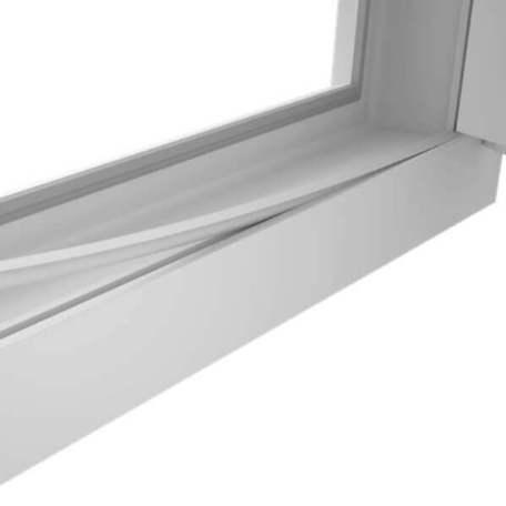 заглушка паза штапика в окна ПВХ finestrelli