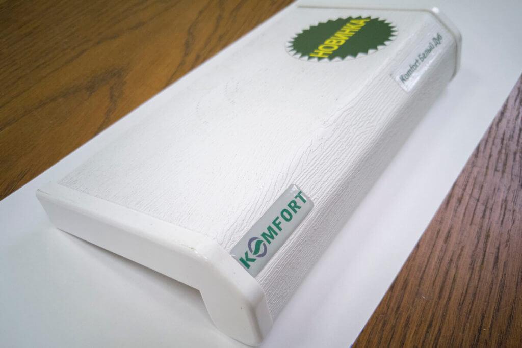 Купить пластиковые подоконники ПВХ Комфорт в Гомеле 4