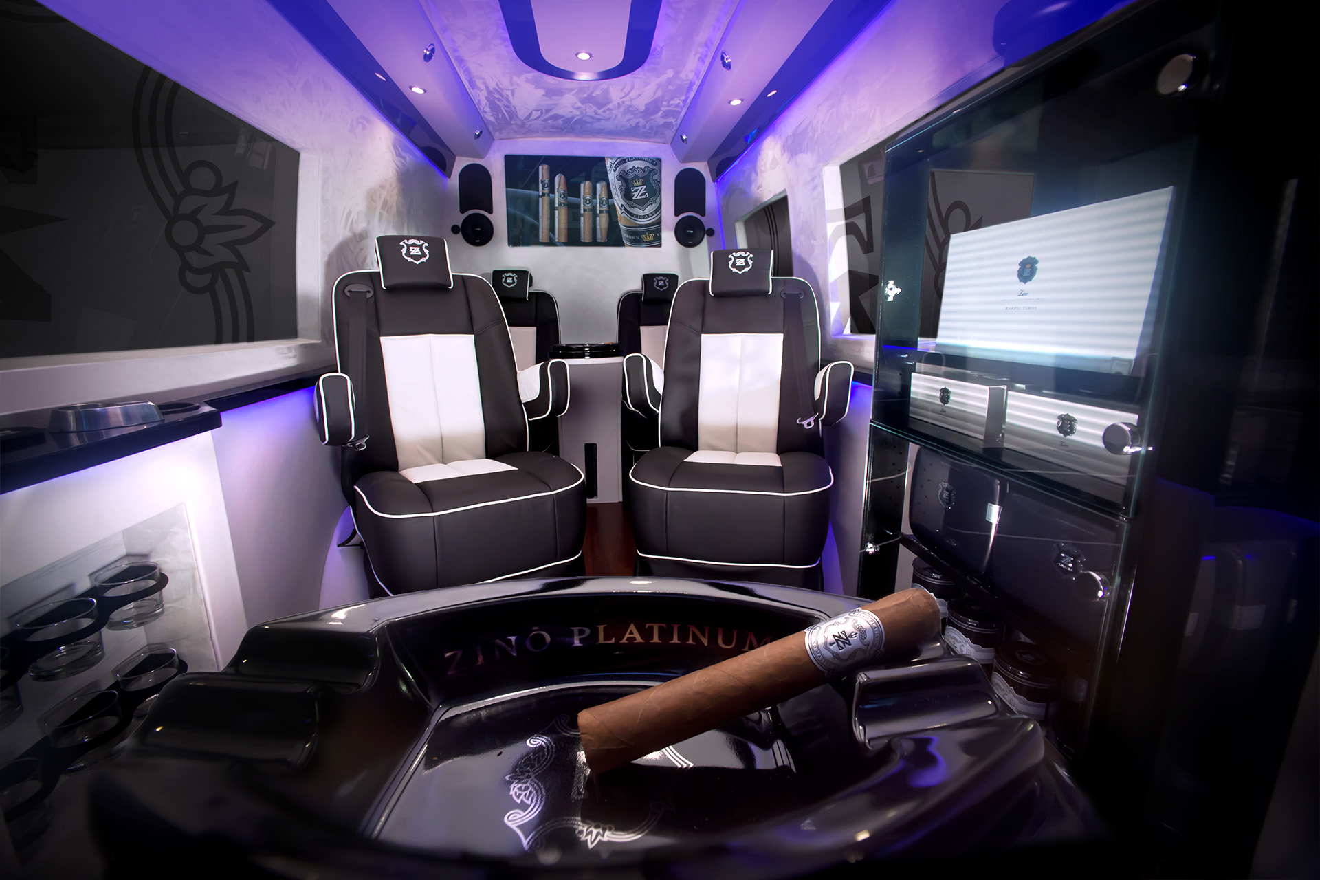 Zino Mobile Luxury Lounge Goes On Tour Fine Tobacco NYC
