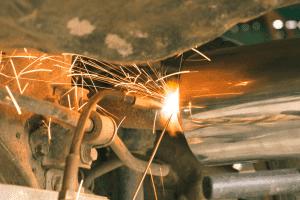 exhaust system muffler repair shop