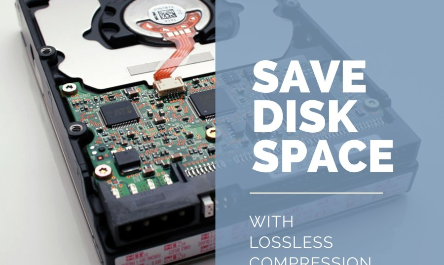 Save this space with lossless compression by using audio codecs like FLAC and ALAC