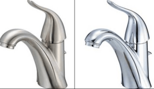 Brushed metal vs chrome