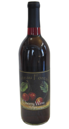 Cherry wine from Chateau Fontaine