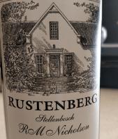 Rustenberg RM Nicholson Stellenbosch Label