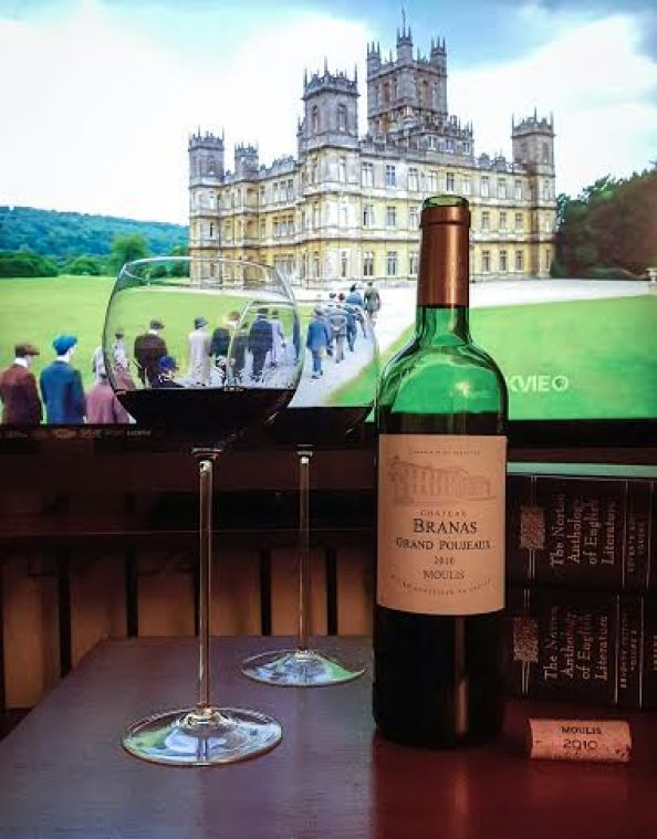 2010 Bordeaux for the Downton Abbey finale.