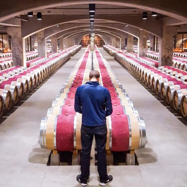 Mondavi casks with BT