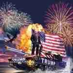 ABC, CBS, NBC & MSNBC Refuse to air 4th of July Celebration 11