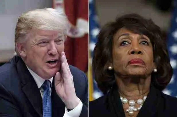 Maxine Waters Wants Trump 'Imprisoned' & 'Placed In Solitary Confinement' 7