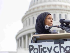 """Ilhan Omar Says She's """"Stricken with PTSD"""" because of Talks of War in the Middle East 8"""