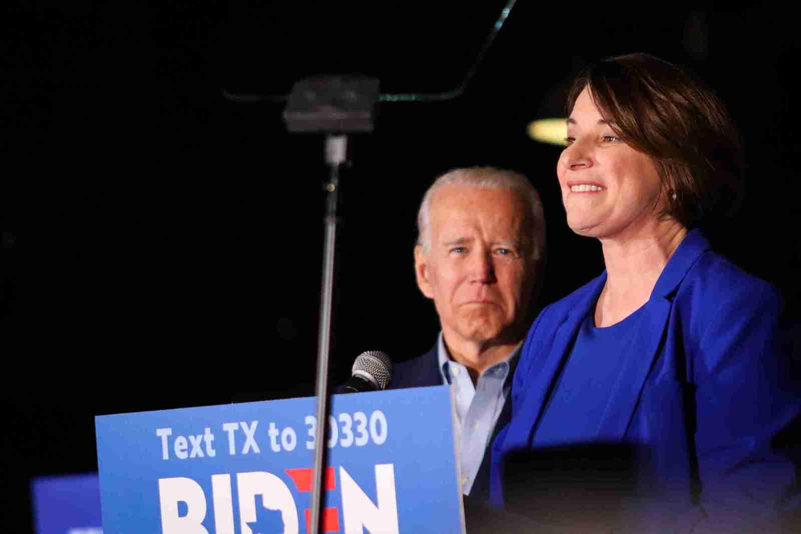 Amy Klobuchar Drops Out of Presidential Race Endorsing Biden 7
