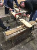 East Coast Rowing Skiff_Oar Making