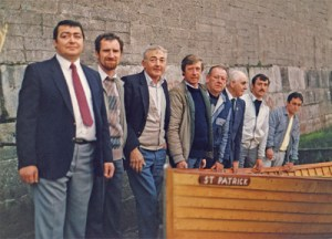 St Pats launch 1972