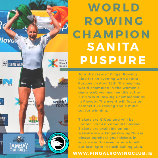 World Rowing Champion - Sanita Puspure