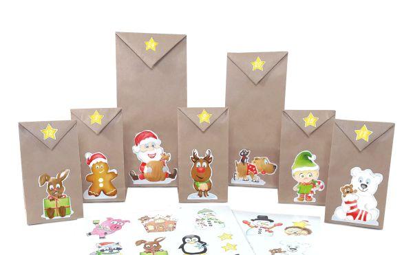 DIY Adventskalender Basteln, DIY Adventskalender Kinder, Adventskalender befüllen, Adventskalender selber befüllen
