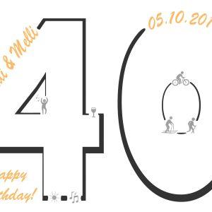 Gästebuch 40. Geburtstag