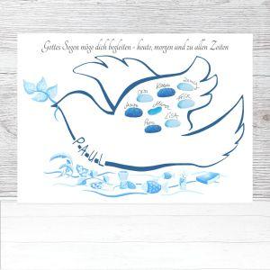 Taufe Taube, Gästebuch Taufe Taube, Taufe Deko Taube, Gästebuch Taube, Fingerabdruckbaum Taube, Fingerabdruck Taufe, Taufe Junge Geschenk, Taufe Taube Vorlage, Taufeinladung Taube