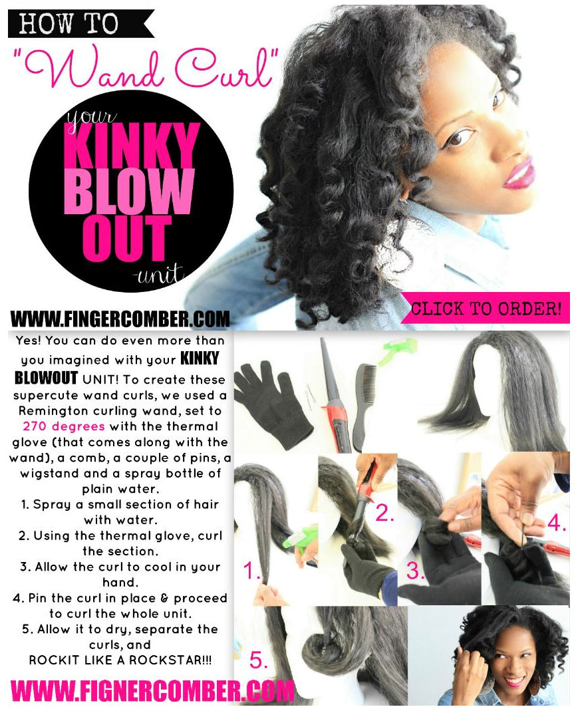 Kinky blow out unit_diy