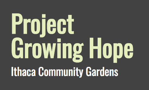 Ithaca Community Gardens: Self-Guided Tour. Saturday 8/25/18, All Day