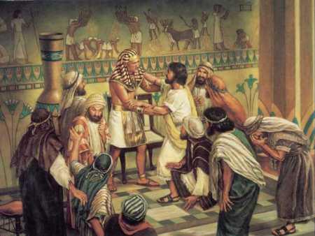 요셉이 형제들과 재회하다