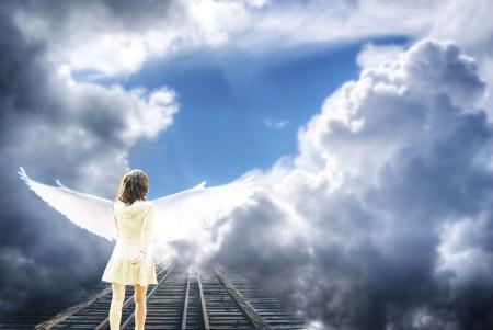 천사 하늘 영혼 마음